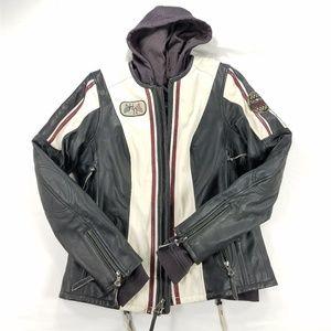 Harley Davidson Alyssa 3 in1 Leather Jacket